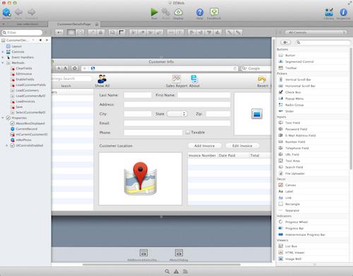 Xojo Visual Designer Web